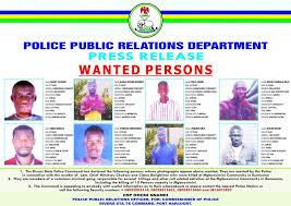 rivers state killings police releases pictures names of 8 wanted