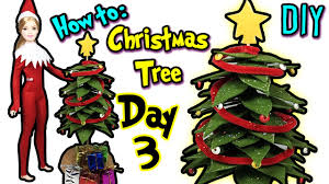 how to make miniature christmas tree for barbie doll diy