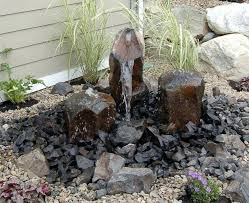 Rock Garden With Water Feature Cheap Rock Garden Ideas Hydraz Club