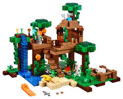 lego minecraft the jungle tree house 21125 toys