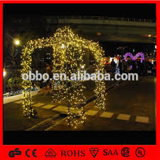 Archway Christmas Decorations by Warm White Christmas Decoration Light 3d Motif Arch Light Lighted