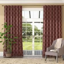 Heavy Curtains Block Light Modern Blackout Curtains Drapes Allmodern