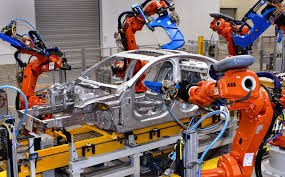 auto industry newsletter abb stakes robot claim in xe facility