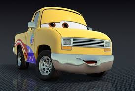 cars characters yellow pixar chief gets his own cars 2 character the blade