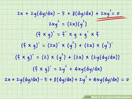 how to do implicit differentiation 7 steps with pictures