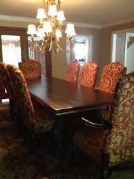Drexel Dining Room Furniture Drexel Heritage Dining Room Table With Upholestry Tuscany Palazzio
