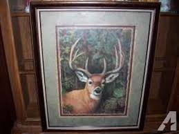 home interiors deer picture home interiors gifts graceful deer framed print