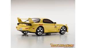 rx7 kyosho mini z ma020 sports 4wd mazda rx7 fd3s yellow kt19