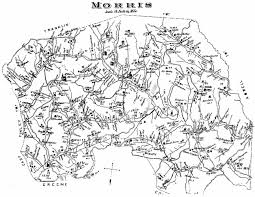 Washington County Map by Washington County Genealogy Pagenweb Project Map Morris Twp