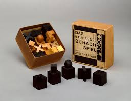 Chess Board Design Josef Hartwig U0027s 1922 Chess Set Design Advances A U0027bauhaus Reality