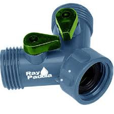 ray padula plastic hose adapter faucet y splitter rp yspp the