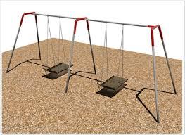 handicap swing 2 bay ada wheelchair platform swing playground swings