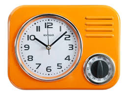 clocks retro kitchen clock retro kitchen clock in multiple colors