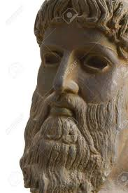 ancient greek god in perspective a reproduction of an ancient