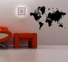 World Map Wall Decal by Online Get Cheap Silhouette Wall Aliexpress Com Alibaba Group