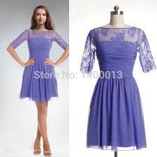 purple lace bridesmaid dress get cheap vintage bridesmaid dress purple aliexpress