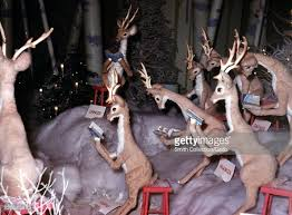 reindeer lawn ornament pictures getty images