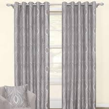 Grey And Silver Curtains Grace Silver Ready Made Eyelet Curtains Harry Corry Limited