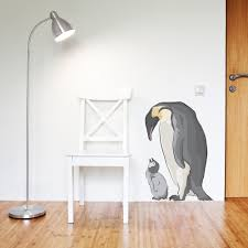 marie wallums com wall decor page 3 emperor penguin and baby decal