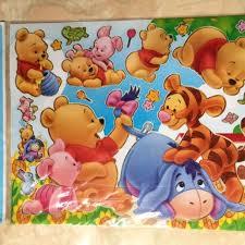 desain kamar winnie the pooh disney sticker edisi winnie the pooh desain kerajinan tangan