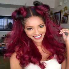 discount red ombre hair black women 2018 red ombre hair for