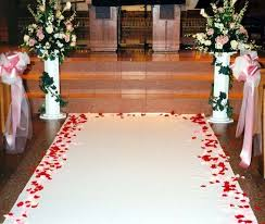 Isle Runner How To Make A Monogrammed Aisle Runner For Your Wedding Holidappy