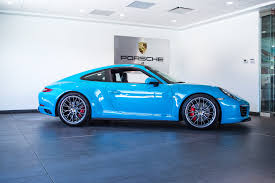 miami blue porsche boxster 2017 porsche 911 carrera 4s for sale in colorado springs co 17017