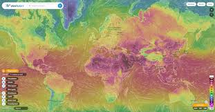 Rainfall Totals Map Wind Rain And Temperature Animated Maps Ecoclimax