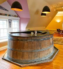 copper backsplash ideas home bar rustic with wine countertops backsplash circle unique kitchen island black