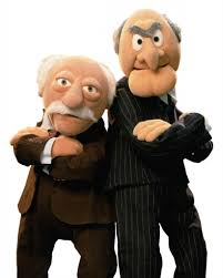 thanksgiving muppets statler u0026 waldorf the muppets animation characters pinterest