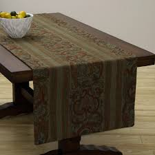extra wide table runners extra wide italian woven olive red table runner 95 x 26 inches