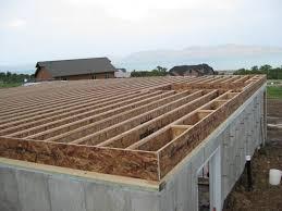 Wooden Floor Framing House Floor Joists Construction