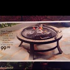 Slate Firepit Pit Bed Bath And Beyond Slate Firepit From Bed Bath