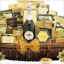 martini gift basket new year s grand gourmet chagne gift basket