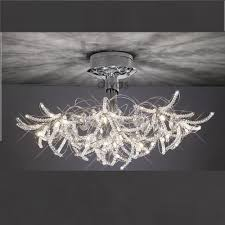 Chrome Ceiling Lights Uk Diyas Uk Kenzo Il Il30880 Polished Chrome Twenty Four