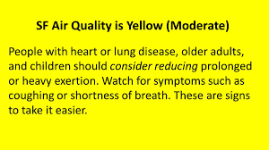 Wildfire Air Quality Symptoms by Sfdph Sf Dph Twitter