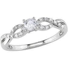 silver diamond rings real silver diamond rings wedding promise diamond engagement