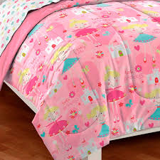 pink pretty little princess girls bedding twin or full comforter