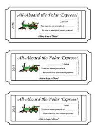 printable scale tickets polar express printable ticket print on yellow paper and make a