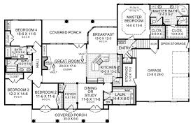 Colonial Floor Plans House Plan 59075 At Familyhomeplans Com