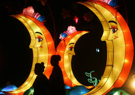 moon festival decorations mid autumn festival in pictures lanterns celebrate china s