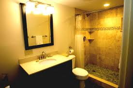 Bathroom Makeover Ideas On A Budget Simple Bathroom Remodel On A Budget Curtain White Pedestal Sink