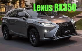 lexus rx 350 se l review lexus rx 350 2017 youtube