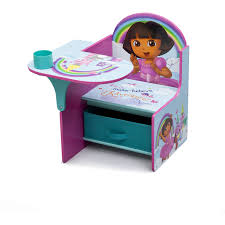 Play Table With Storage And Chairs Nickelodeon Dora Chair Desk Kids Study Table Storage Bin Furniture