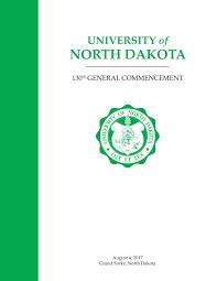 Und 2015 Spring Commencement Program By University Of North Dakota