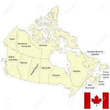 Blank Map Of Canada Provinces And Territories by Detailed Map Of Canada Royalty Free Cliparts Vectors And Stock