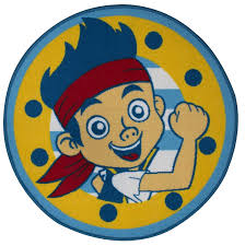 amazon com jake and the never land pirates rug toys u0026 games