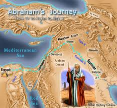 Ancient Mesopotamia Map Ur Of The Chaldees Bible History Online