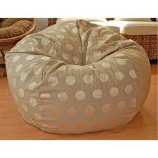 cotton bean bag chairs you u0027ll love wayfair