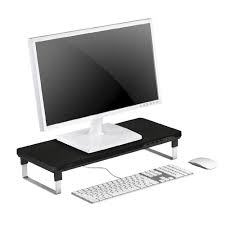 deepcool mdesk c1 monitor stand with usb charge officeworks